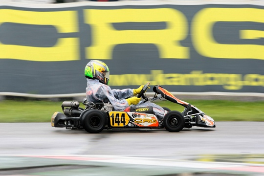 Very good race by Dionisios and CRG in the KF Junior World Championship of Sarno