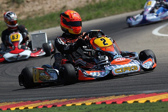 CRG AND ITS DRIVERS READY FOR THE TITLE CHALLENGE IN ORTONA'S EUROPEAN CIK-FIA KF CHAMPIONSHIP
