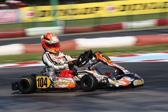 CRG protagonist in the European Championship opener with Tiene and Hiltbrand