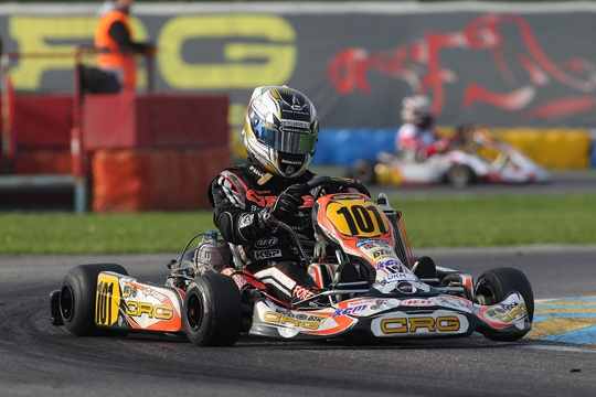 CRG, Davide Forè just missing out on the victory  in KZ2 WSK Final Cup