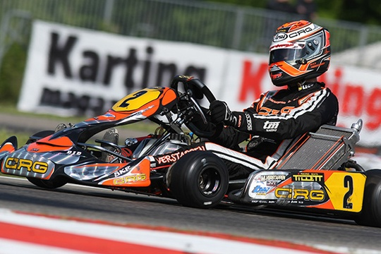 CRG WORKS TEAM HEADING TO BELGIUM FOR GENK'S ROUND OF THE  KZ&KZ2 EUROPEAN CHAMPIONSHIPS