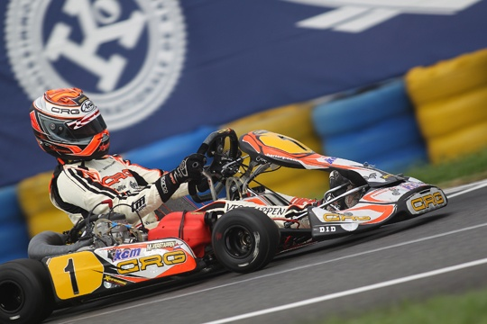CRG, the most titled karting brand in the world! 39 world titles reached, 11 in the category with the shift