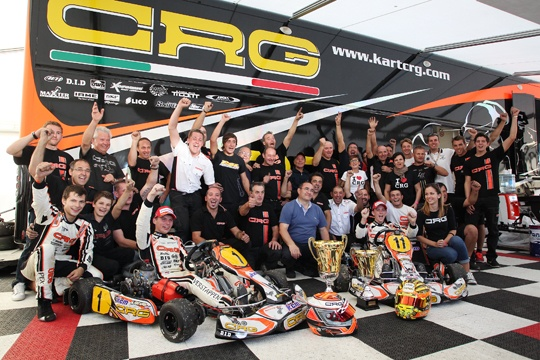 Crg and Max Verstappen new World Champions!