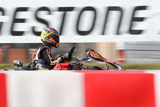 WINTER CUP: CRG PROTAGONIST, BUT NOT VERY LUCKY