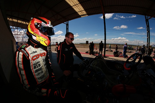 CRG AT THE EUROPEAN CHAMPIONSHIP  FOR KZ2, OK AND OK JUNIOR IN ADRIA