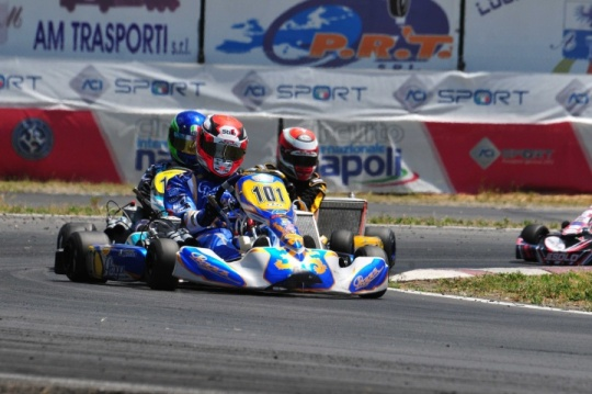 Sarno's round of Campionato Italiano Karting. Great races and big numbers on track