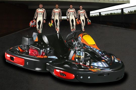 CENTURION, THE NEW EMOTION FOR RENTAL KARTS BY CRG IS COMING
