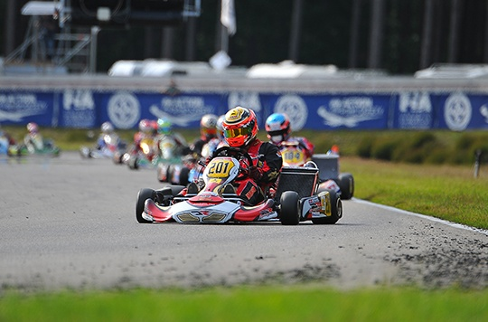 Antonsen and Midrla take pole start for KZ2 prefinals