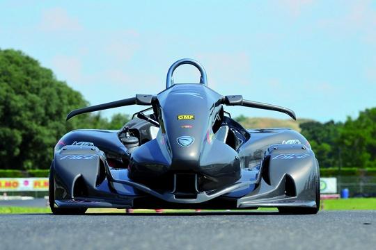 New MKI Monaco R1 aerodynamic kart