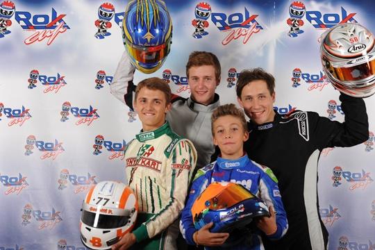 Swiss driver Bar wins the Rok Cup international final in Lonato
