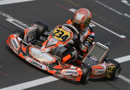 Kart Grand Prix GB - Final OKJ: Van T'Hoff completes the weekend, Bernier and Minì on the podium