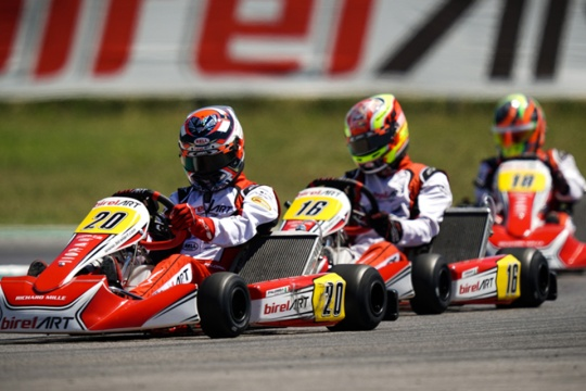 Birel ART makes a successful comeback to competition