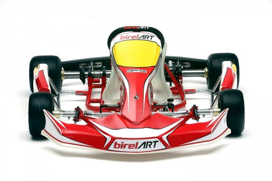 The new Birel ART chassis unveiled