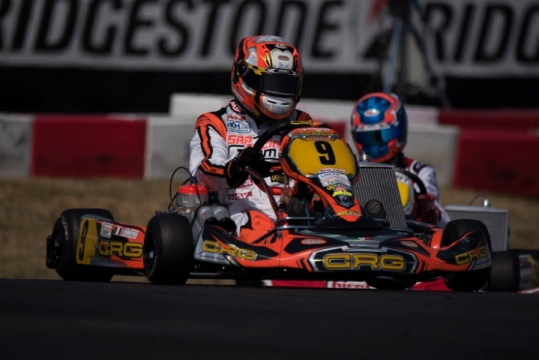 Kart Grand Prix Italy - Federer wins in KZ, J.Pex celebrates title. Albanese prophet at home in Academy