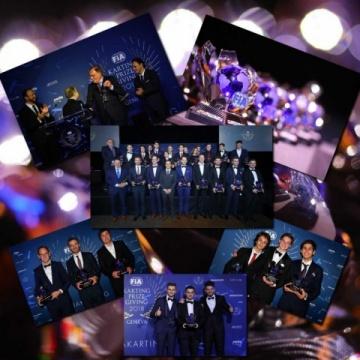 CIK FIA Prize Giving Ceremony - All the award winners