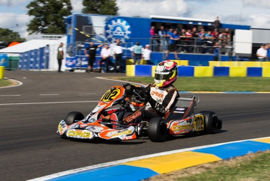 Hiltbrand leads the field in KZ2
