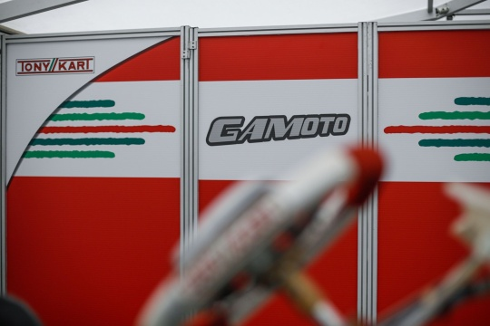 Gamoto in Triscina for the first round of the Campionato Italiano ACI Karting