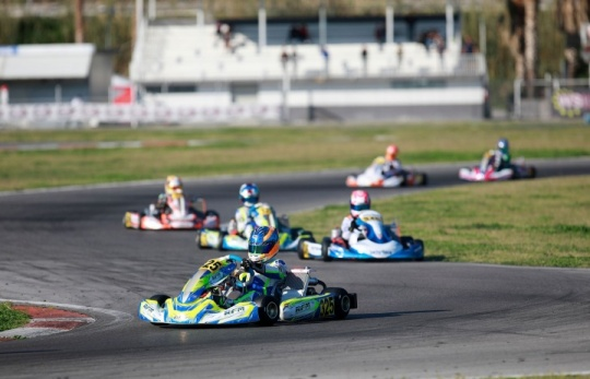 Laurens van Hoepen fast but unlucky at the WSK Euro Series premiere