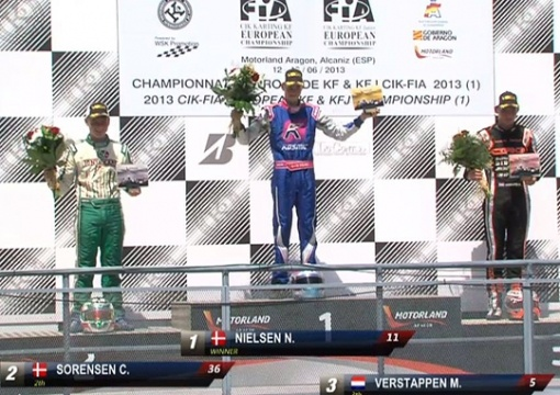 Nielsen dominates the KF final