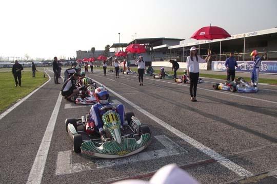 FIRST SEASONAL RACE AT CIRCUITO INTERNAZIONALE NAPOLI, SARNO'S TRACK (ITALY)