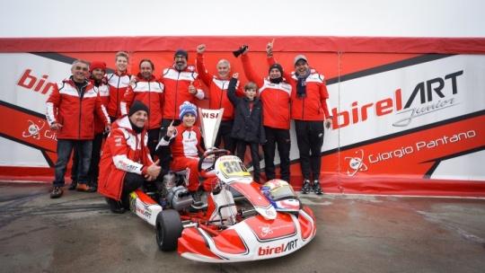 Camara wins in OK-Junior as the season starts at Adria