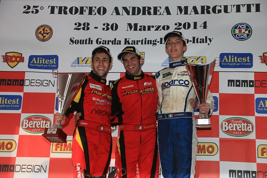 A great 25th edition of the Andrea Margutti Trophy with 200 drivers on track in Lonato
