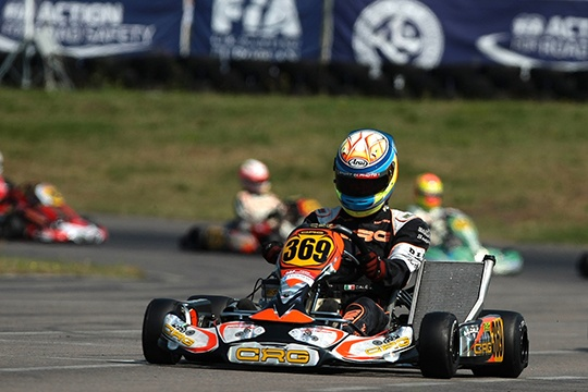 DALE' IS THE NEW EUROPEAN KZ2 CHAMPION ON CRG-MAXTER