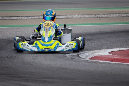Laurens van Hoepen ready to fight in the WSK Champions Cup