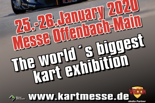 Final exhibitor list for the 28.IKA-KART2000