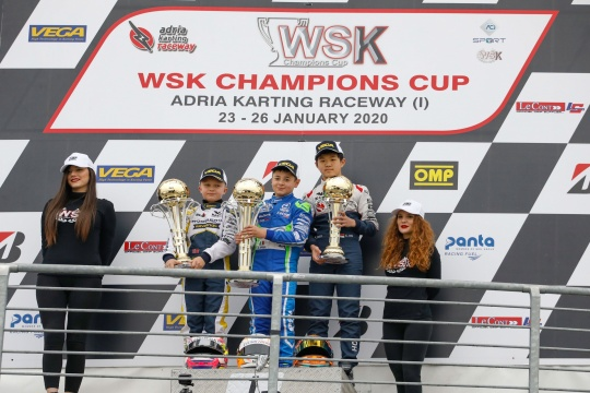 WSK Champions Cup - Barnard, Spina and Khavalkin open the season