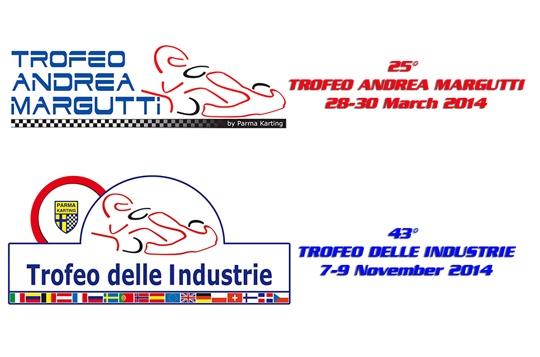 2014 dates of the 25th Trofeo Andrea Margutti and 43rd Trofeo delle Industrie