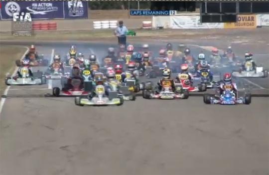 Celenta and Camponeschi start Zuera finals from pole