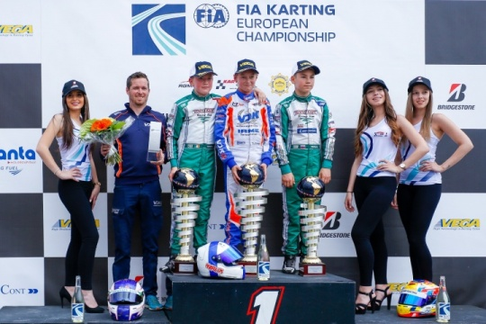 FIA Karting Euro - Finals: Travisanutto and Amand victorious in Genk
