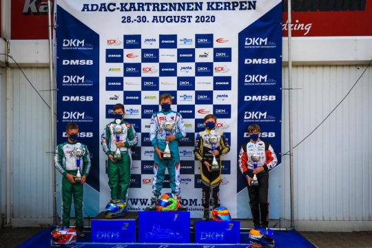 Braeken once again on podium in the DKM at Kerpen