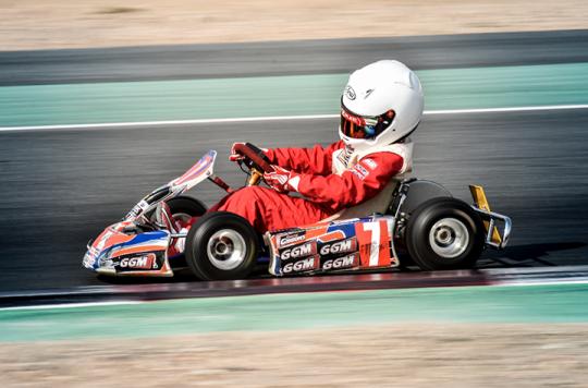 Dubai O Plate - Dubai Kartodrome, January 21 2017