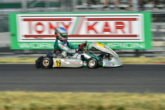 The Racing Team ready for the world fight for KZ and KZ2 categories in Belgium