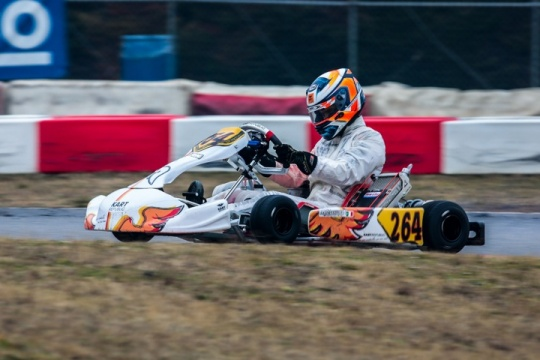 """23rd Winter Cup - Travisanutto, """"I am very satisfied with the KR, ready to fight it out in front"""""""