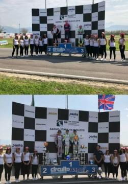 Kart Grand Prix of Italy - Finals: Stanek and Aron, open the European season