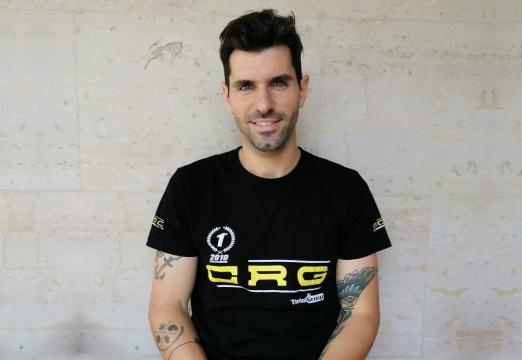 Jaime Alguersuari, ready to get back on track at Campillos