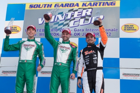 Ardigò, Nielsen e Kenneally won the 21st Winter Cup