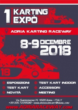 Danilo Rossi is ready for the year end's event: the 1st Karting Expo