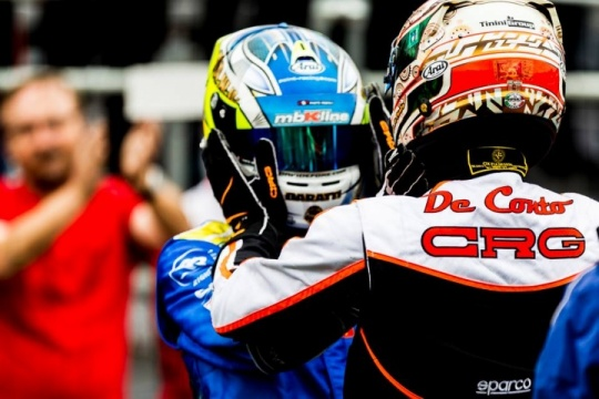 Great start of the 2018 CIK-FIA season at Sarno