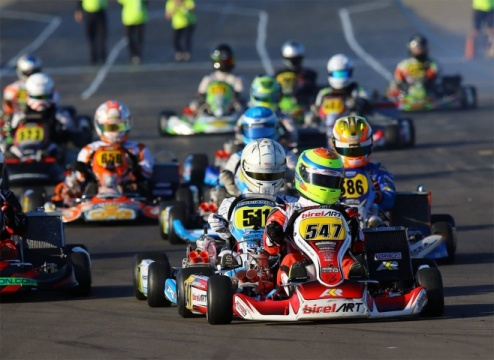 West coast domination from Birel Art & Ricciardo