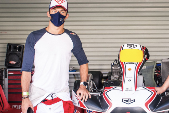 Pierre Gasly: healed from COVID 19 but not from.. kart racing!