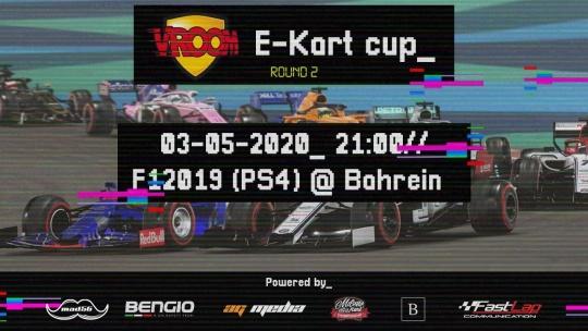 """Vroom e-Kart Cup, back """"on track""""!"""