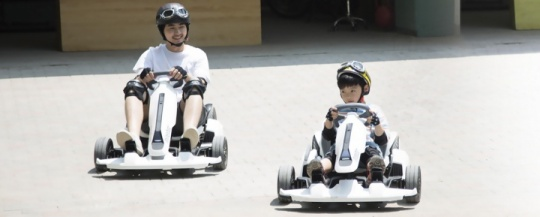 Segway presents its electric go-kart kit