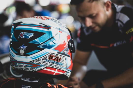 Kai Sorensen ready for FIA Karting weekend in Italy