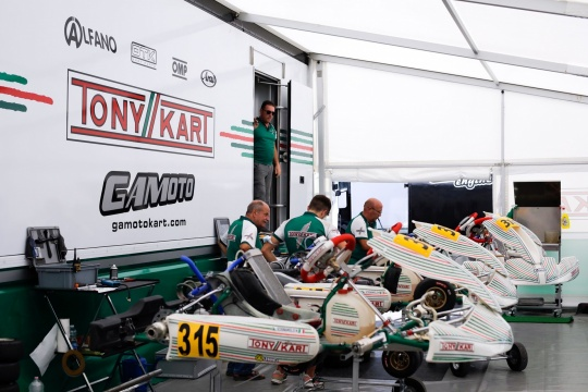 Bitter end for Gamoto Kart in Franciacorta