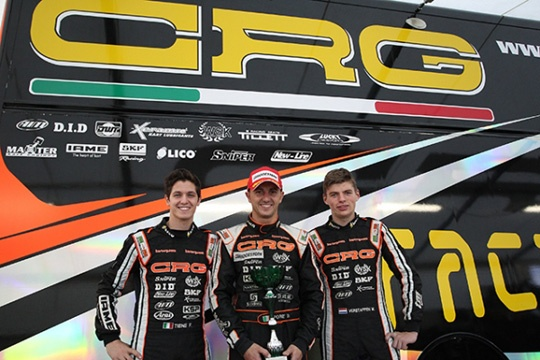 AWESOME TRIPLET BY CRG IN VARENNES' SUPERPOLE WITH FORE', TIENE AND VERSTAPPEN.  GOOD PERFORMANCE FOR THE OTHER CRG DRIVERS TOO