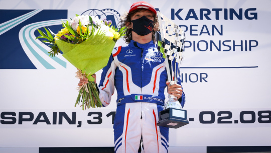 Andrea Kimi Antonelli: «I'm feeling better and I hope to be back as soon as possible!»